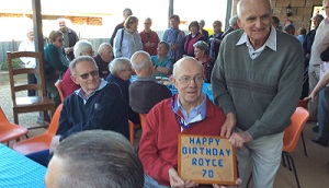 A 70th birthday to remember in Cootamundra