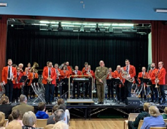 Canberra Brass Inc presents Motor on supported by the Band of the Royal Military College Duntroon