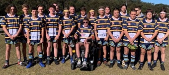 Nelson Bay Junior Rugby League Club MND Charity Jersey Fundraiser