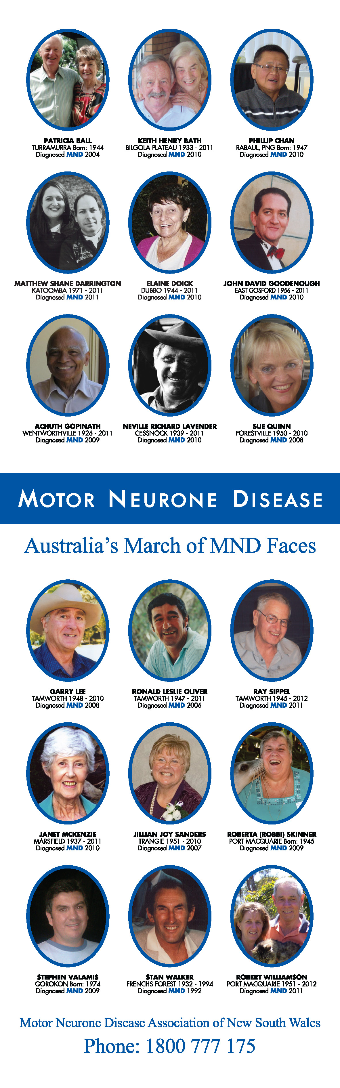 MND March of Faces Banner 12